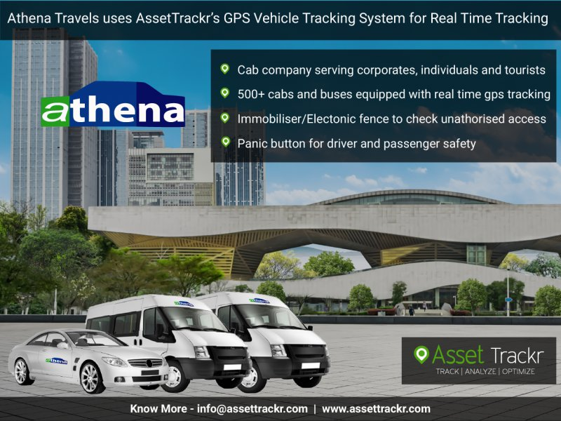 Athena Travels uses GPS vehicle tracking System