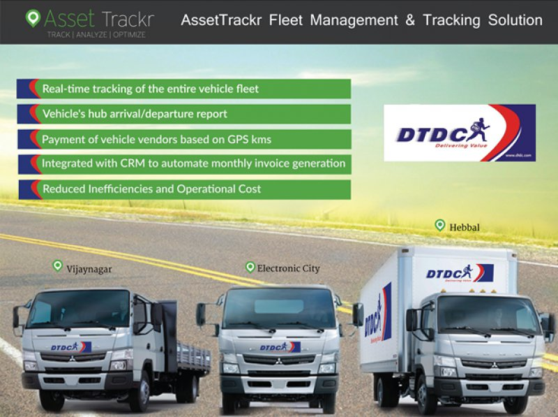 DTDC Vehicle Tracking System