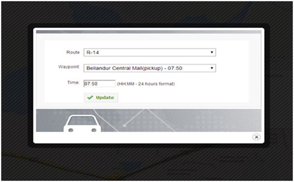 AssetTrackr's Employee Transport Management System .